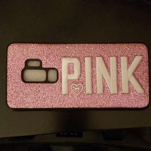 Victoria Secret Pink Bling Glitters Soft Case Cove
